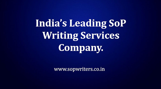 Sop writing services india