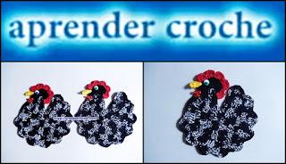 edinir croche videos galinha-d'angola decoração facebook curso de croche loje dvd edinir-croche