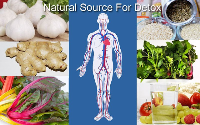 10 Excellent Natural Source For Detox Your Body