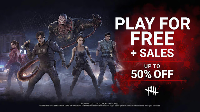 dead by daylight xbox one free play days event 4v4 asymmetric survival horror game behaviour interactive xb1