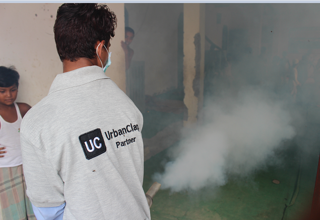 UrbanClap offers free pest control services in under privileged areas in Delhi