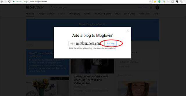 how to add your blog to bloglovin (part 2)