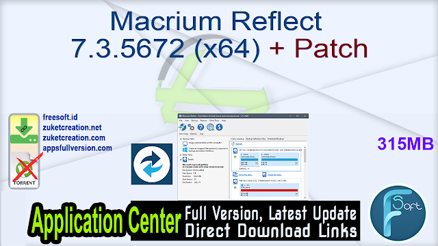 Macrium Reflect 7.3.5672 (x64) + Patch