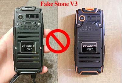 VKworld Stone V3 and original, how to spot VKworld Stone V3 fake and original
