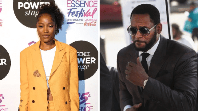 Keke Palmer condemns former mentor R Kelly: 'That's not the side I knew'