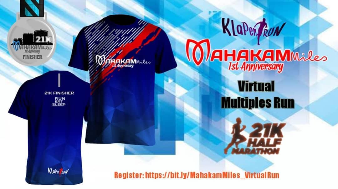Mahakam Miles Virtual Run • 2020