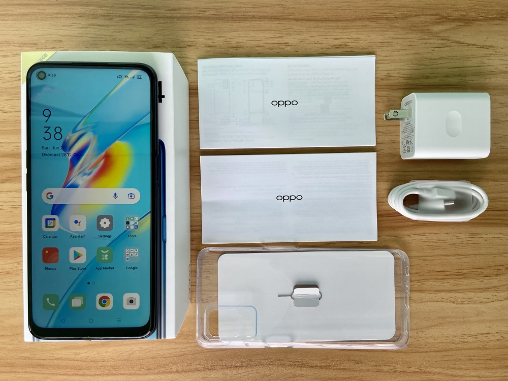 OPPO A54 What's inside the box