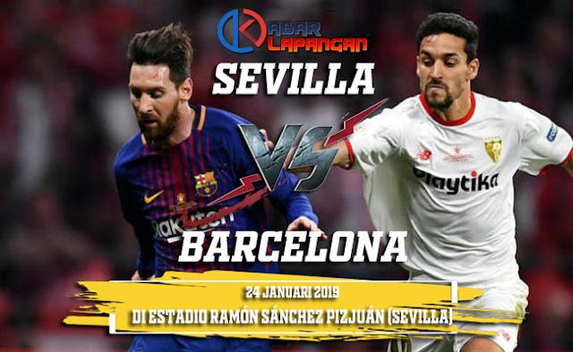 Prediksi Bola Sevilla vs Barcelona Copa Del Rey
