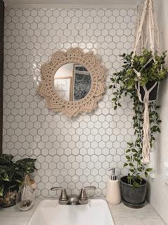 Boho RV Bathroom Renovation