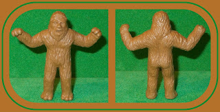 Chewbacca; Galaxy Laser Team; Galaxy Lazer Team; Great Ape; Horror Play Set; Luke Skywalker; Lycan; MPC 60mm Figures; MPC Horror Play Set; Small Scale World; Star Wars; Tim Mee; Toy Big-Foot; Toy Sasquatch; Toy Yeti; Unknown Plastic Figure; Wolfman; Wookie;