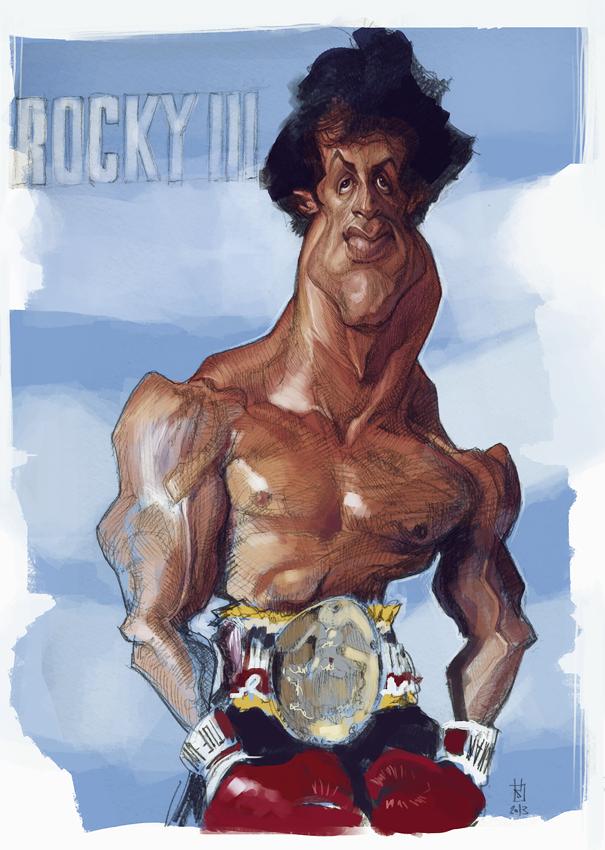 Rocky III por Alberto Russo
