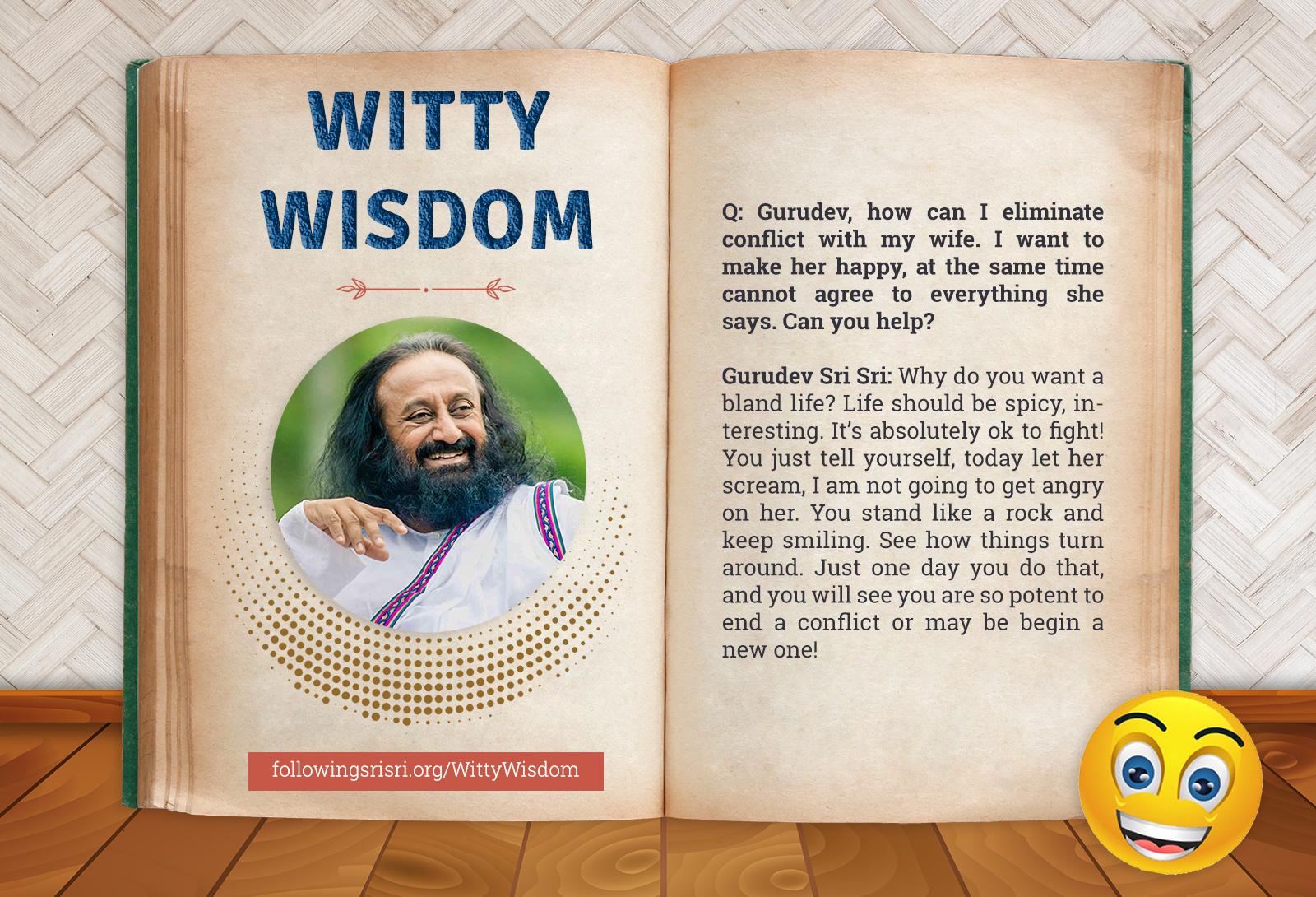 Conflict | Witty Wisdom