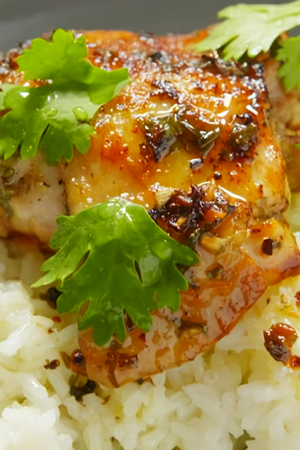 Best Cilantro Lime Chicken