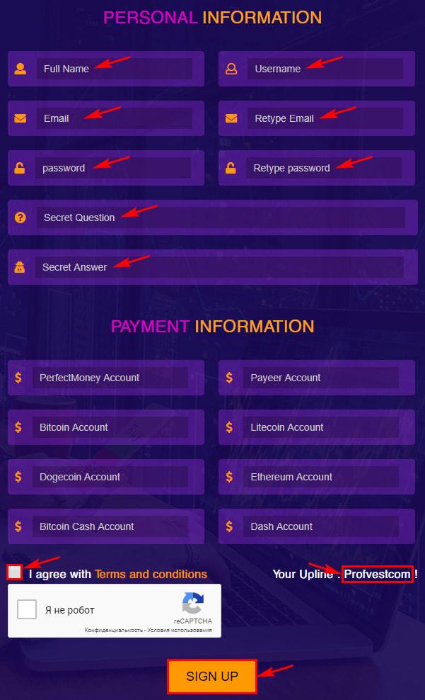 Регистрация в Rich Global Limited 2