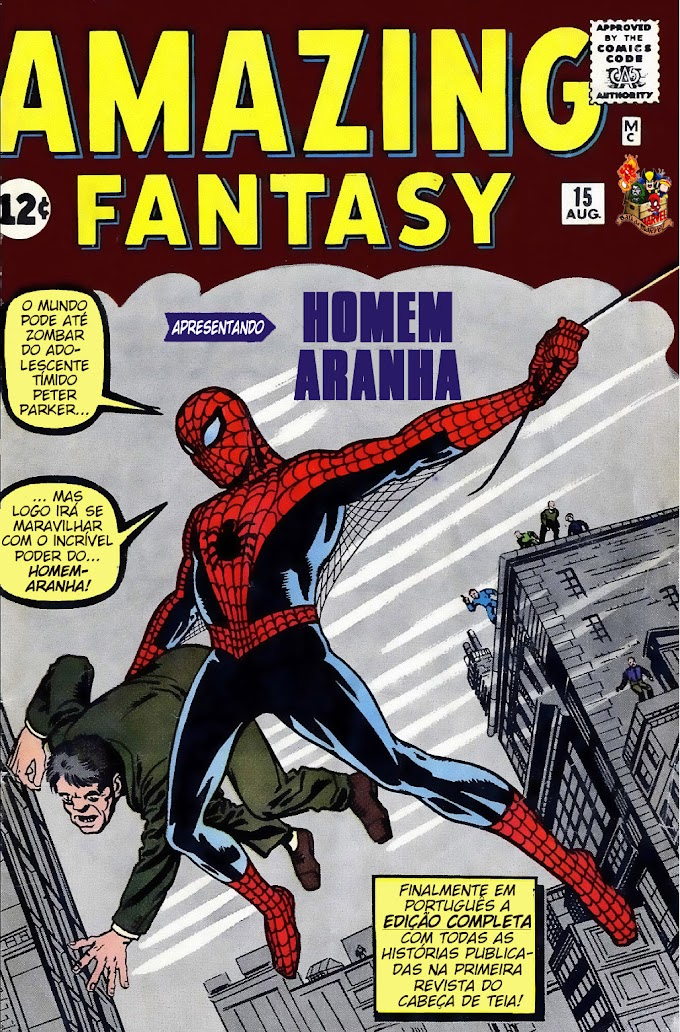 Amazing Fantasy v1 #015 (1962)