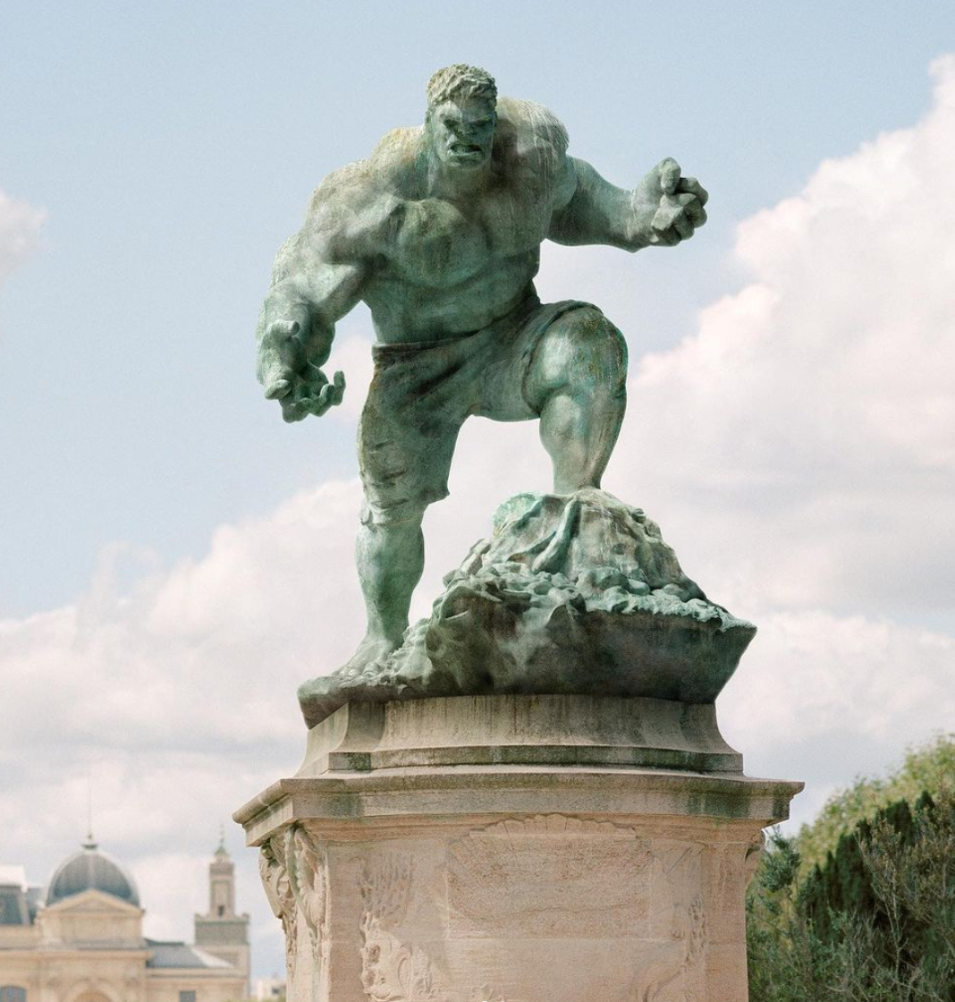 Benoit Lapray French Creative Photographer & Retoucher - Hulk