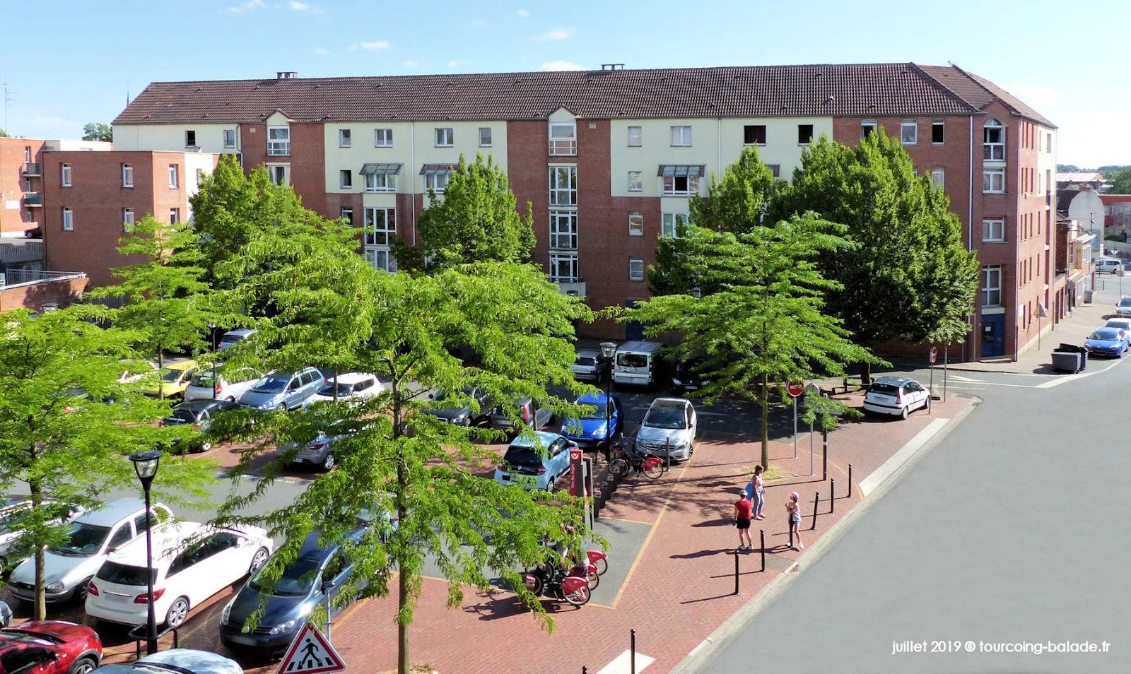 Parking Lagrange, Tourcoing 2019