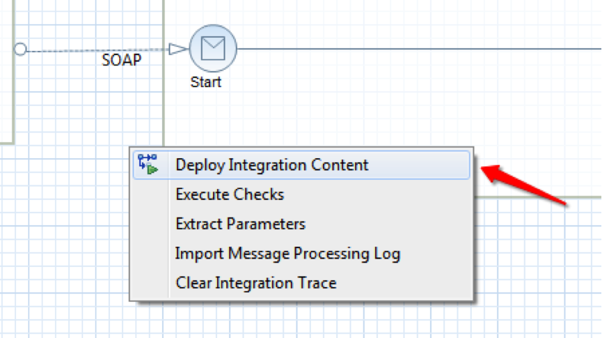 New You will need a WSDL to use in the Application Studio For this final step you need to create a Communication Scenario in CC if your deployment was