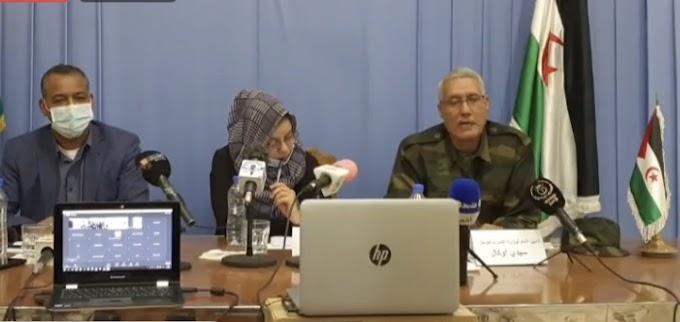 Sidi Omar y Sidi Ougal ofrecen una rueda de prensa conjunta con los últimos avances del conflicto saharaui.