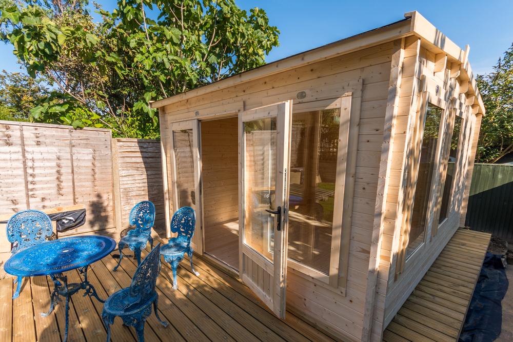 Ein gartenhaus im sommer bauen so geht das pineca