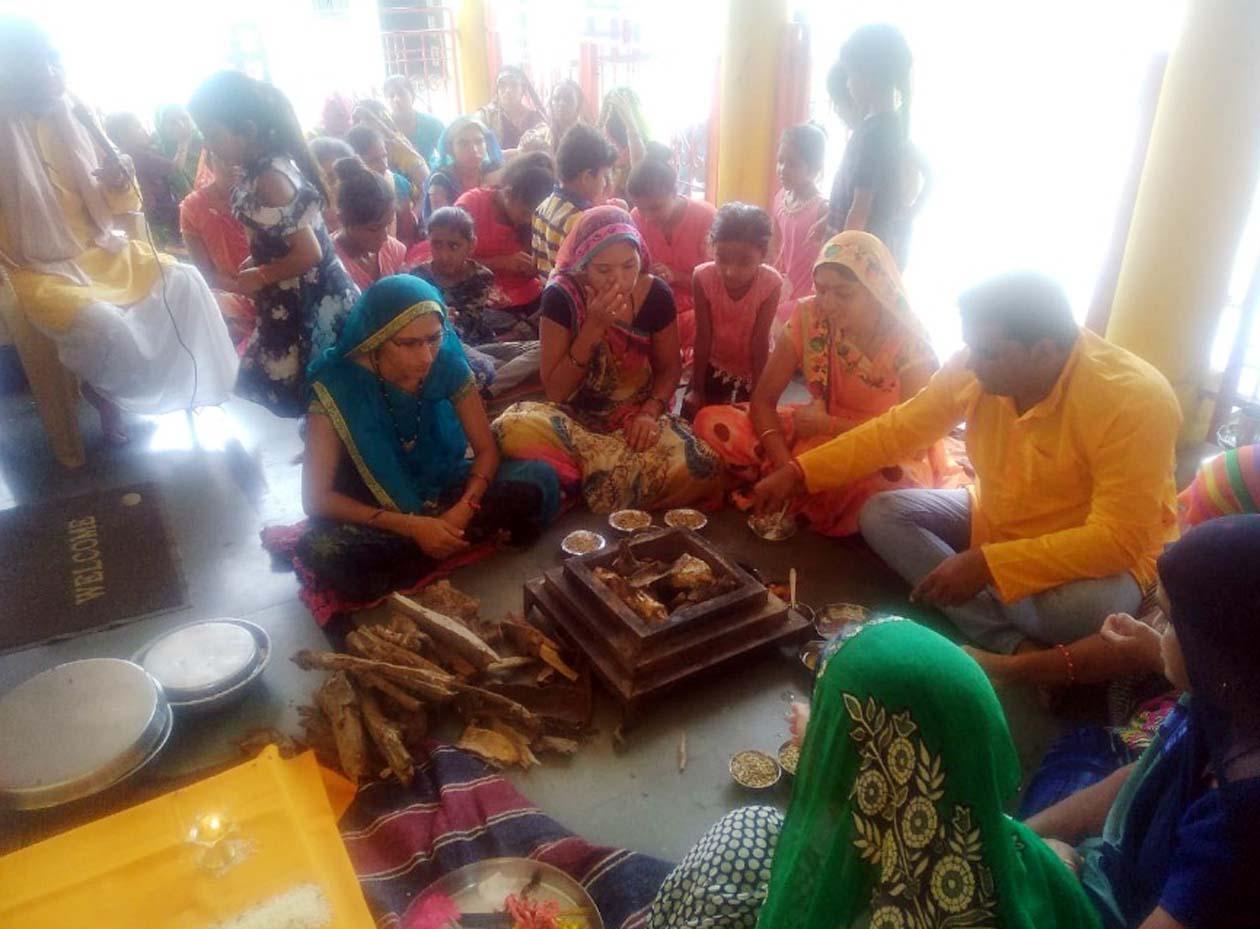Jhabua News- गुरू पूर्णिमा पर गायत्री शक्तिपीठ काॅलेज मार्ग पर जाप, साधना, यज्ञ एवं गुरूपूजन का हुआ आयोजन,