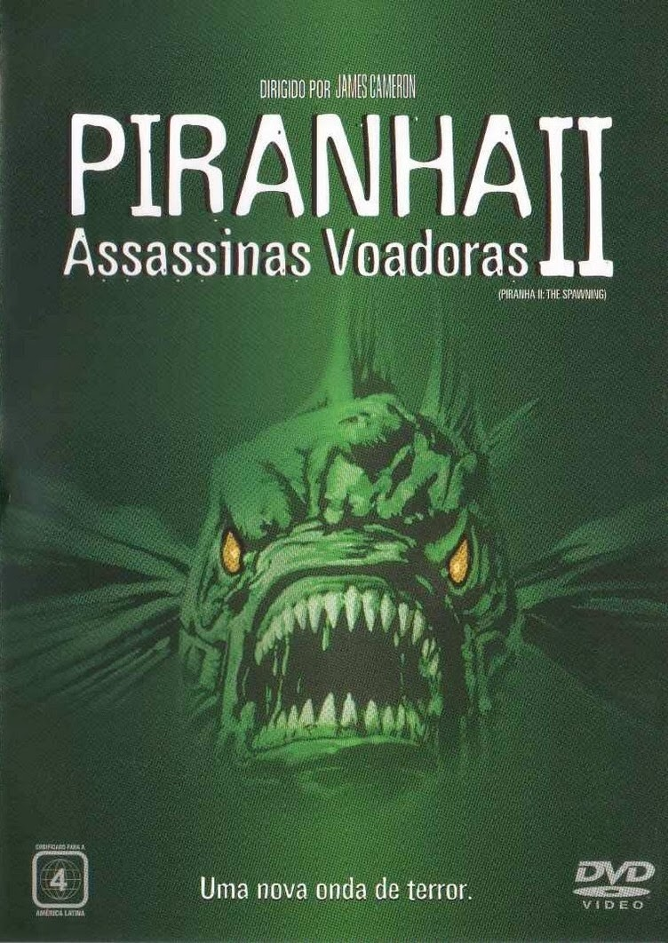 Poster do filme Piranha 2 - Assassinas Voadoras