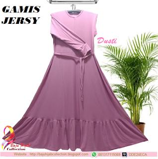 Gamis Jersy Dusty