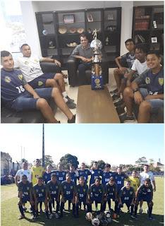 SUB-15 de Miracatu vence a 1ª Copa Aberta de Futebol - Categorias de Base em Peruíbe