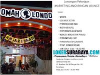 Lowongan Pekerjaan Surabaya di Angkringan Lounge (Omah Londo) September 2019