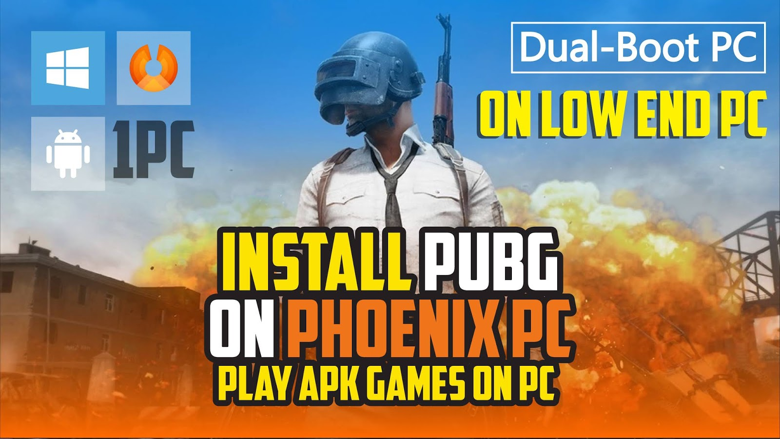 How to install pubg mobile on phoenix os   pubg mobile on