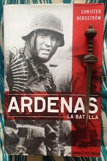 Portada del libro Ardenas, de Christer Bergström