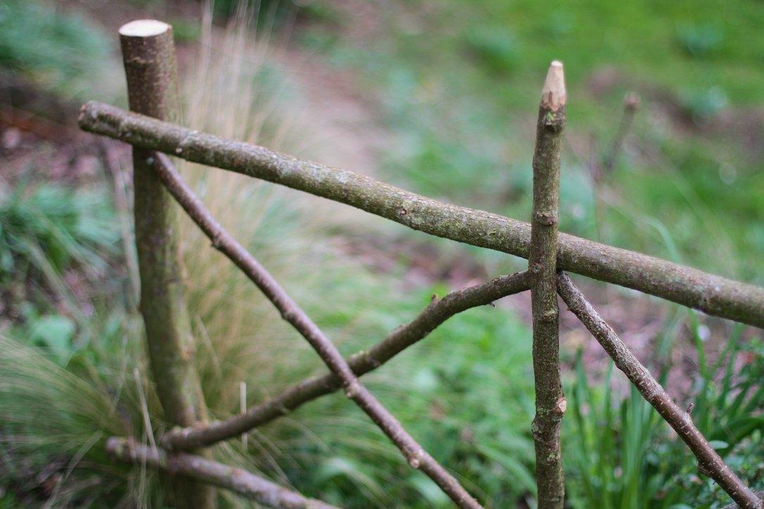 Le jardin des poussins Inspiration hivernale en noisetier