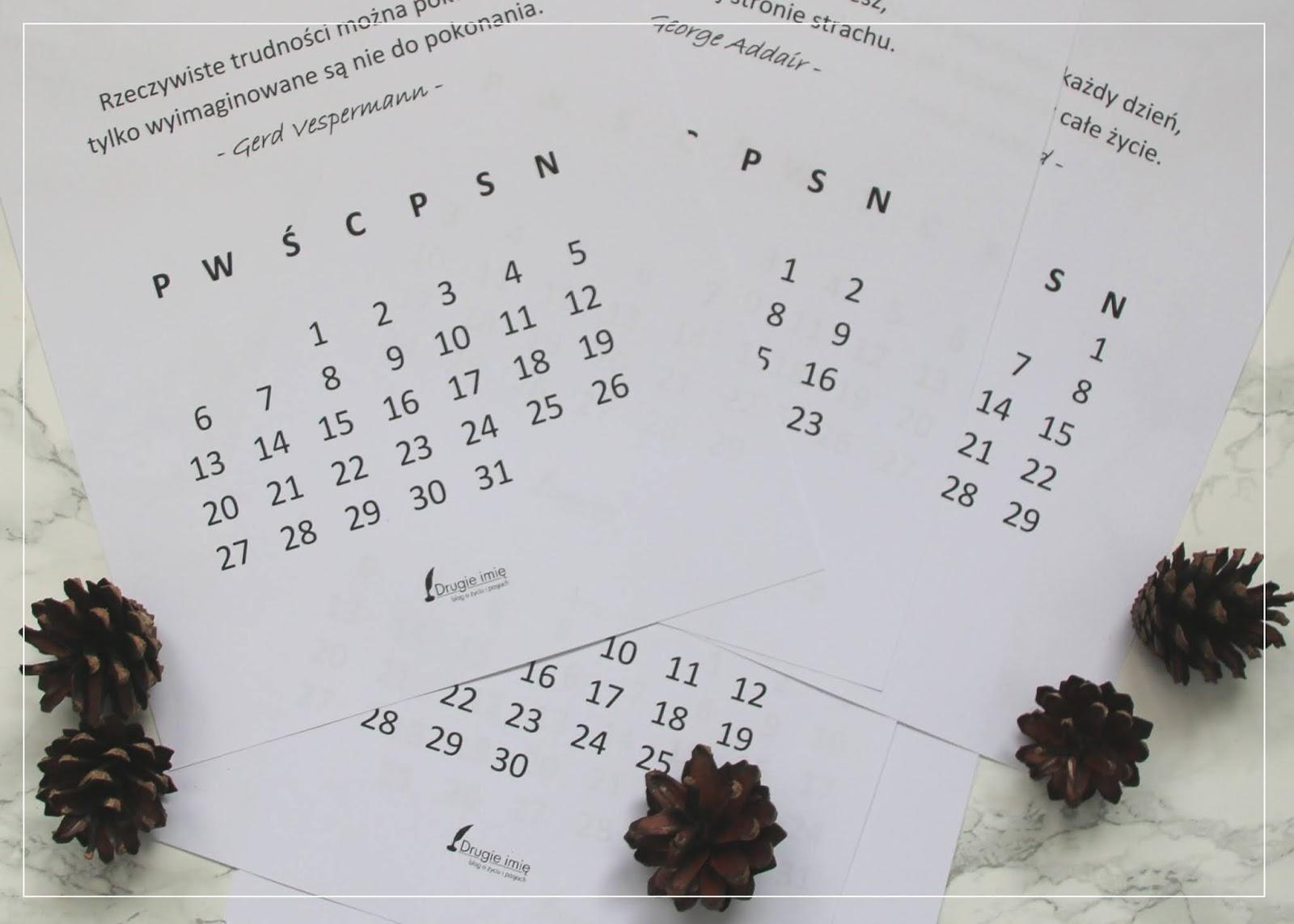 Postanowienia noworoczne. Czy warto je robić? Plus kalendarz z motywującymi cytatami do pobrania.