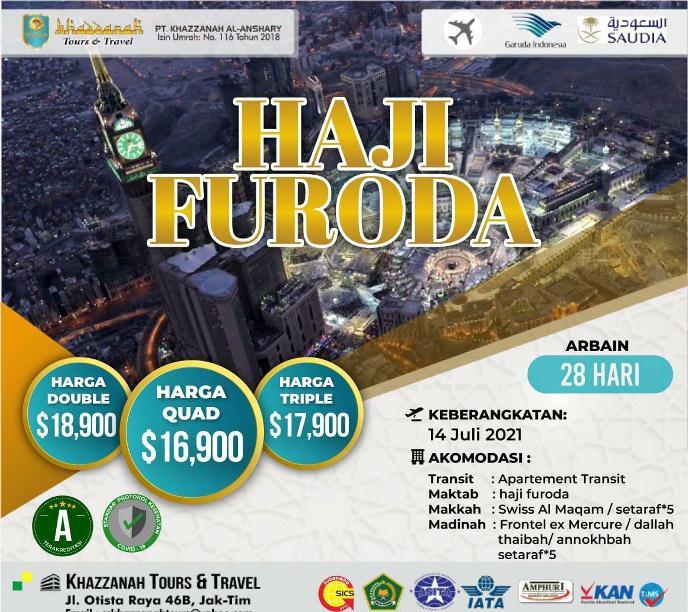 Paket Biaya Haji Furoda Non Kuota langsung berangkat