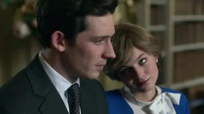 Josh O'Connor (Príncipe Carlos) y Emma Corrin (Princesa Diana)