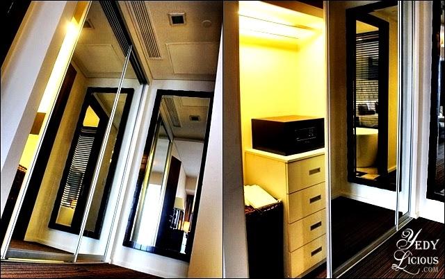 Hallway and closet