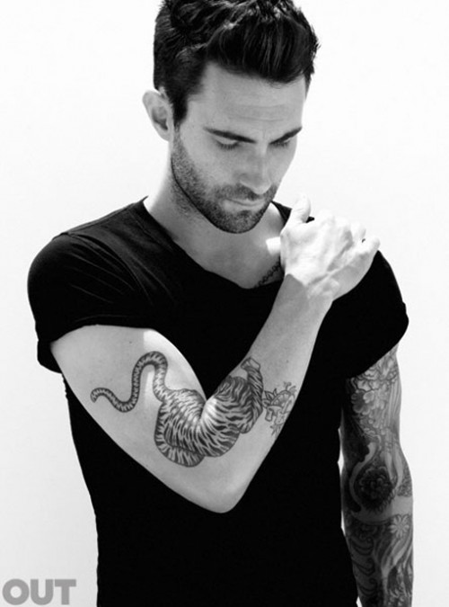 Adam Levine Covers Out Magazine - Fashionably Fly