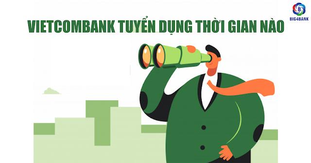 Vietcombank Tuyển Dụng Thời Gian Nào