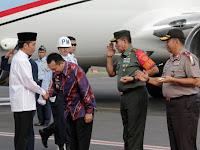 Gubernur Ridho Sambut Presiden Jokowi dalam Rangka Silaknas dan Milad ICMI ke-28