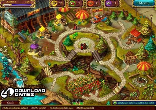 لعبة الحديقة Gardens Inc للكمبيوتر والاب توب
