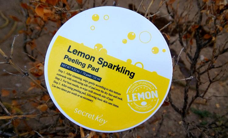 Review: Secret Key Lemon Sparkling Peeling Pad
