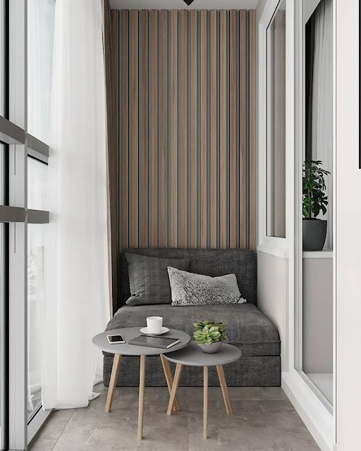 Thiết kế và thi công hoàn thiện nội thất căn hộ chung cư Celadon City quận Tân Phú - Logia
