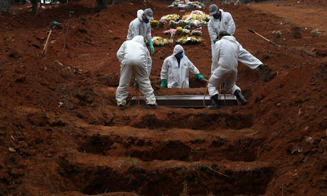 COVID: Brasil bate mais um triste recorde, 4 mil mortes em 24h por covid-19