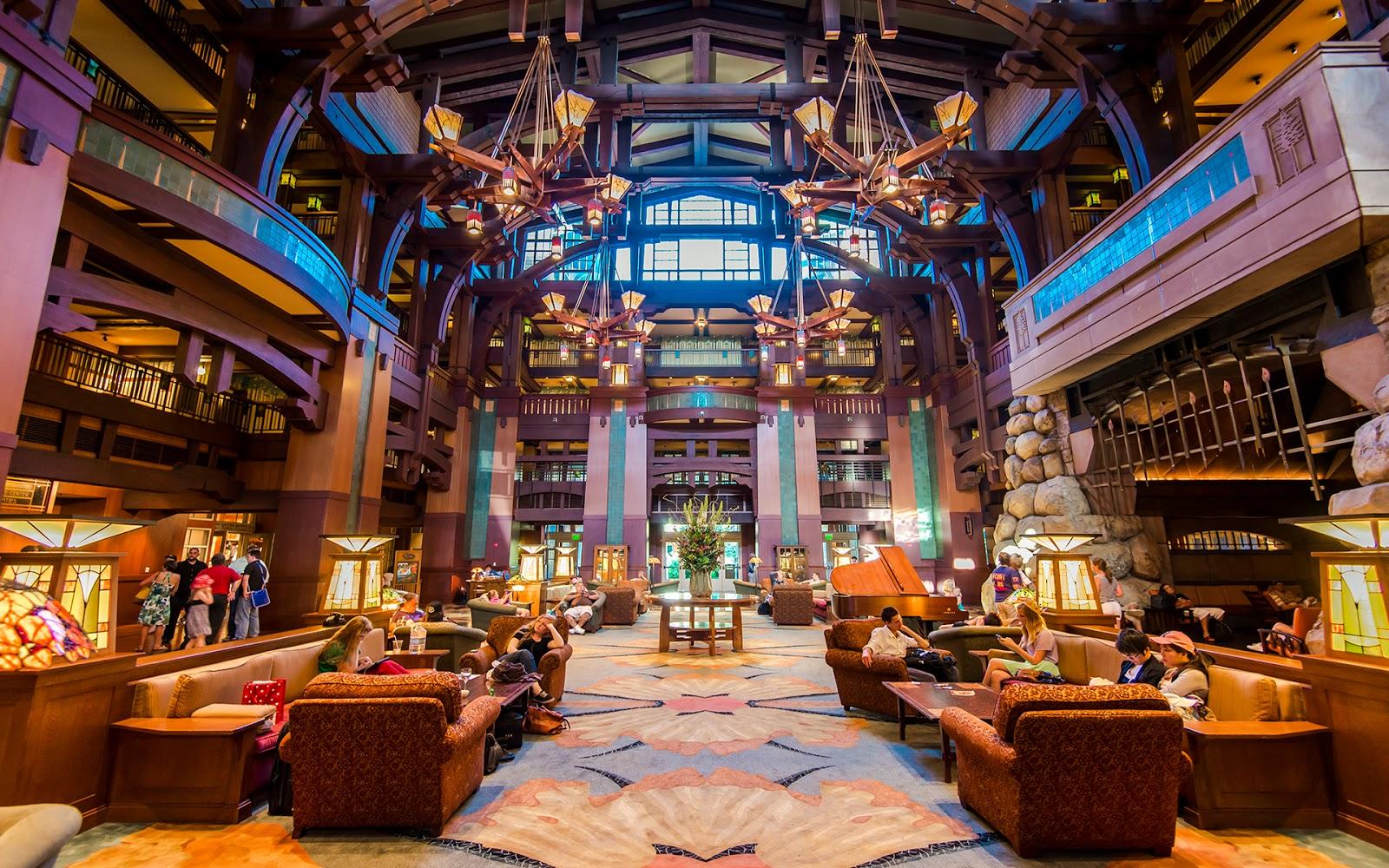 Disneyland Grand California Hotel