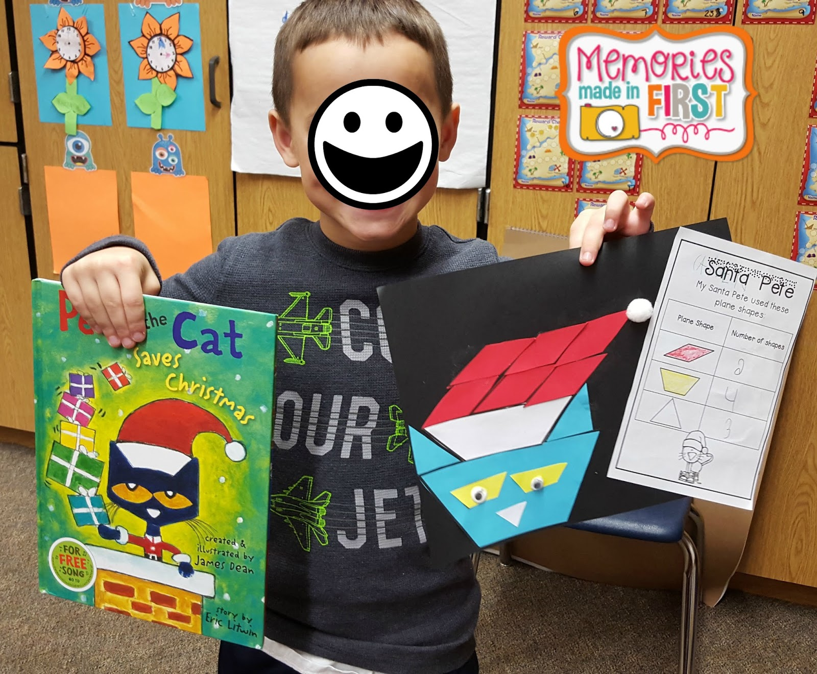 Memories Made In First Pete The Cat Saves Christmas