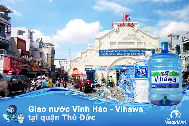 Đại lý nước Vĩnh Hảo - Vihawa đóng bình quận Thủ Đức