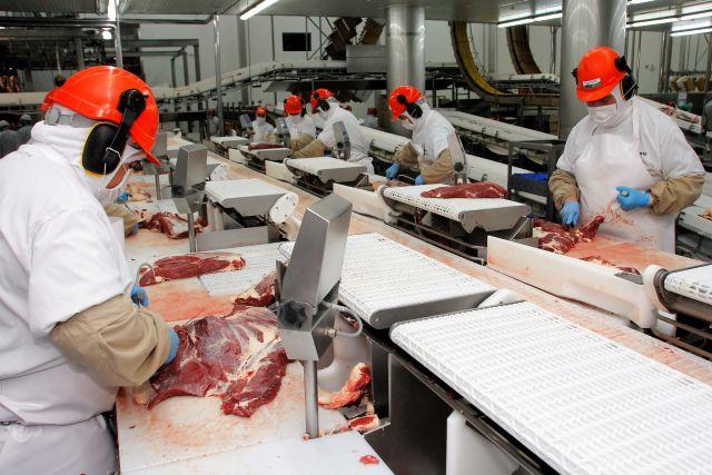 Exportación de carne bovina