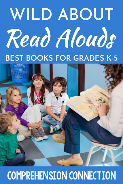 How can you make the most of your read aloud time? Why is it important to include read aloud time in your day? Check out this post for suggested reading and how you can best use the choices you make.