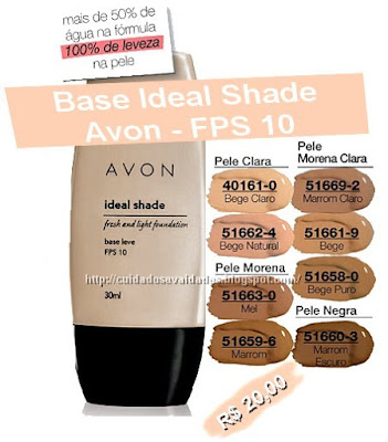 AVON - BASE IDEAL SHADE
