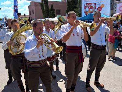 Festival Terompet Guča Serbia